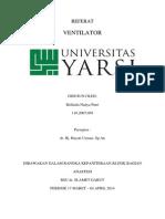 Cover Referat Anastesi