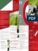 Perfil Para Hidroponia 'NFT FOPIL FLAT'