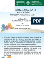 Tema7-El Individuo y Los Grupos