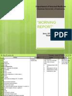 Morning Report 10 Juni 2014