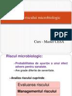 Curs 9 Analiza Riscului Microbiologic