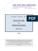KSRA Diciplinary and Procedures HandBook