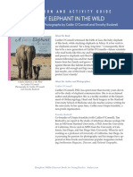 Baby Elephant in the Wild Discussion and Activity Guide