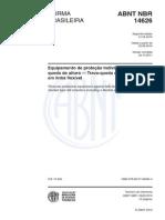 NBR 14626 - Trava Quedas Linha Flexível