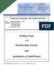 2007 December UNA-Tampa Bay Newsletter