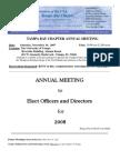 2007 November UNA-Tampa Bay Newsletter