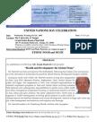 2007 October UNA-Tampa Bay Newsletter