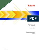 Pandora 2.9 UserGuide ES