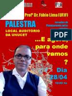 Cartaz Palestra Fabio