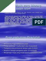 Praktik Bisnis Yang Dilarang Dalam Islam