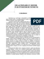 Proiect EEEET - SISTEM DE ACŢIONARE CU MOTOR ASINCRON ŞI INVERTOR DE TENSIUNE