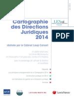 Cartographie 2014 des Directions juridiques