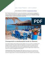 Transport local Thassos, orar si preturi