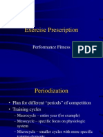 Exercise Prescription Performance 2006
