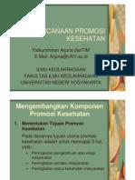 (4) PERENCANAAN PROMKES