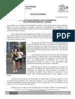 01 de junio de 2014 COMUNICACIÓN PADRES E HIJOS FUNDAMENTAL PARA PREVENIR ANOREXIA Y BULIMIA