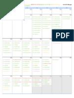 Calendar Febrero