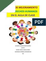 Plan de Mejoramiento en Derechos Humanos