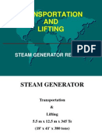 Removing a Steam Generator