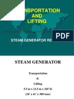 Removing a Steam Generator