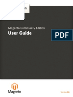 Magento Community Edition 1.8 User Guide