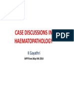 Cases in Hematopathology