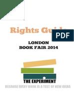 London Book Fair 2014 Rights Guide