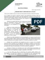 05 de mayo de 2014_SE SUMAN 9 UNIDADES MÁS A CARAVANAS DE LA SALUD