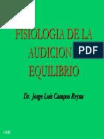 FISIOLOGIA Audición y Equilibrio