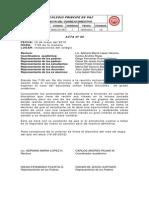 Acta de Johan Felipe Gonzalez