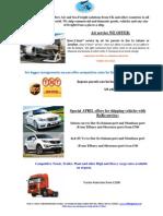Swift Freights UK LTD Offers June
