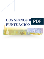 Los Signos de Puntuacin