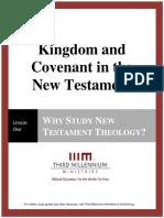 Kingdom and Covenant in the New Testament - Lesson 1 - Transcript
