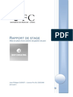 Rapport Stage JphCuenot 2011