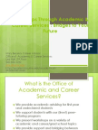 Internships Presentation- 2014