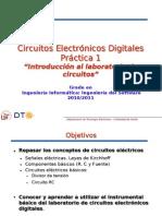 """Práctica 1 """"Introducción Al Laboratorio de Circuitos"""""""