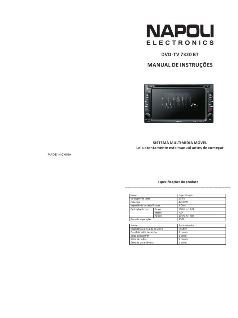 manual dvd napoli 7320 rh scribd com