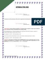 Clase de Division y Fichas