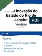 Lei de Inovacao Rio de Janeiro 2014