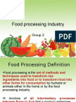 127609115 Indian Food Processing Industry