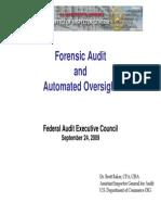 Forensic 0909