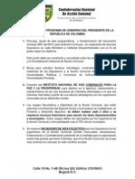 Agenda Presidente Santos