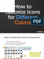 Customize Icons With Different Colors