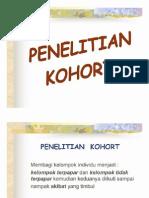 Penelitian Kohort