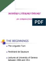 Literary Theory i