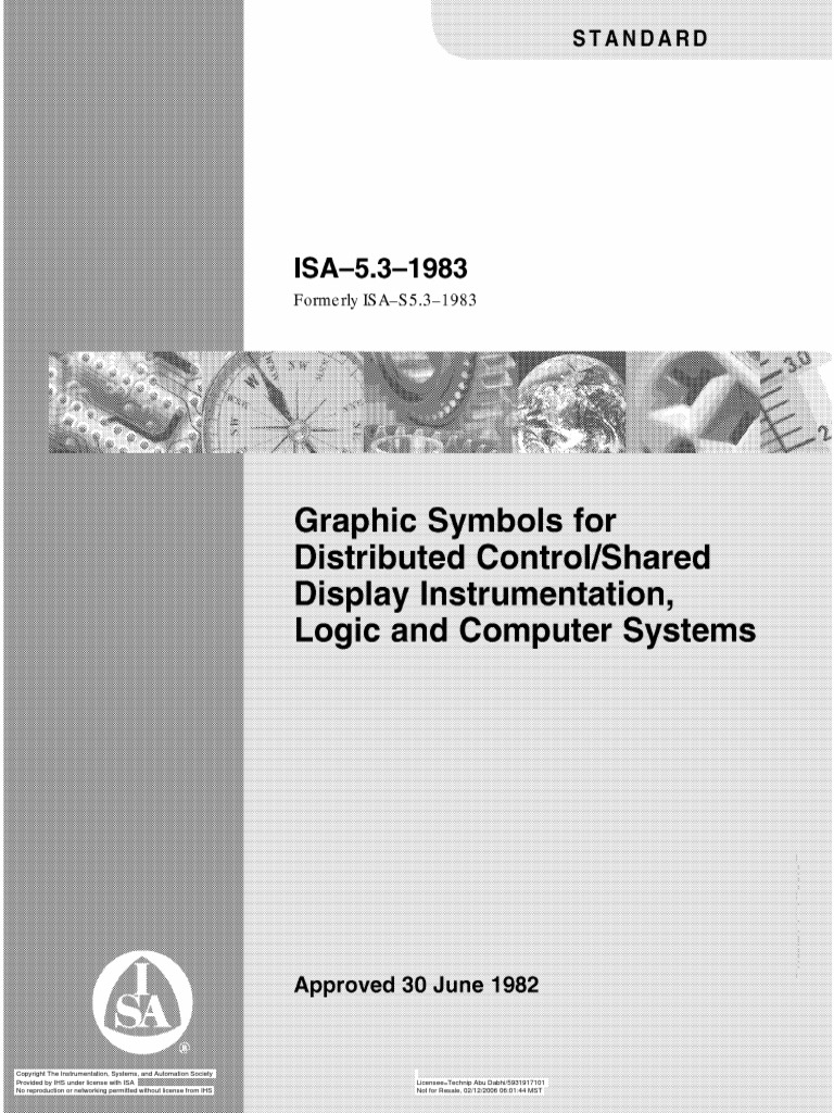 ISA 5.3 Graphic Symbols for Distributed Control Shared Display  Instrumentation, Logic & Computer Systems | Instrumentation | Automation