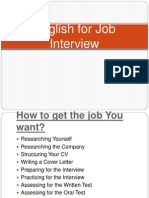English for Job Interview