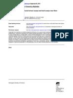 Morphologic Dating of Fluvial Terrace Scarps and Fault Scarps