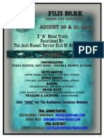 BattleBorn Bonanza Trial I and II Flyer