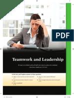 Leadership and Team Work Skills